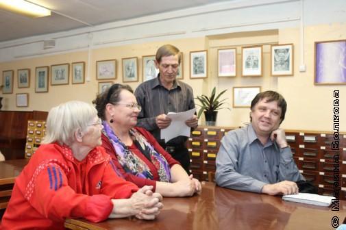 Встреча с верхнеуфалейскими литераторами