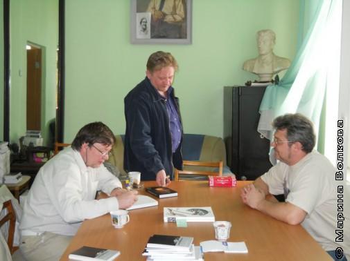 Обмен книгами в СПР Екатеринбурга