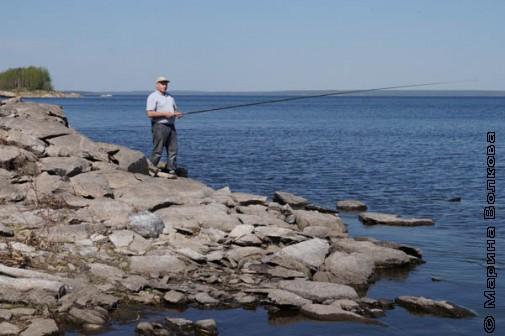 Озеро Аргази, рыбалка