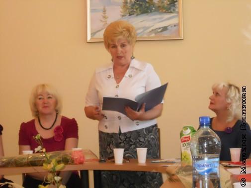 Программу работы литературного кружка защищает Елена Янышева