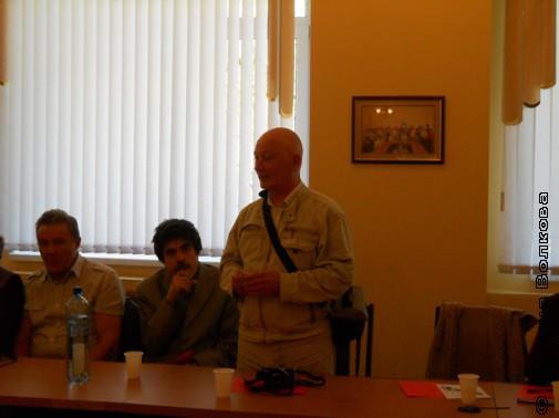 Член общественной аттестационной комиссии В.Н.Курбатов