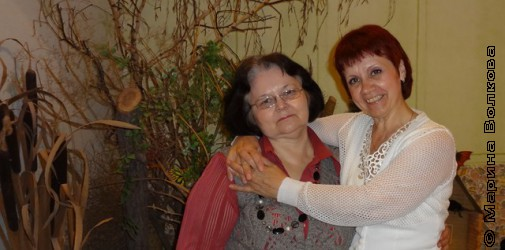 С Ларисой Фёдоровной в  День Библиотекаря