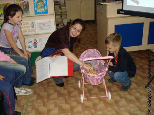 Елена Сидоренко, Переулок Прибауток, Детская библиотека №7