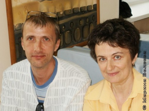 Янис Грантс и Ирина Аргутина