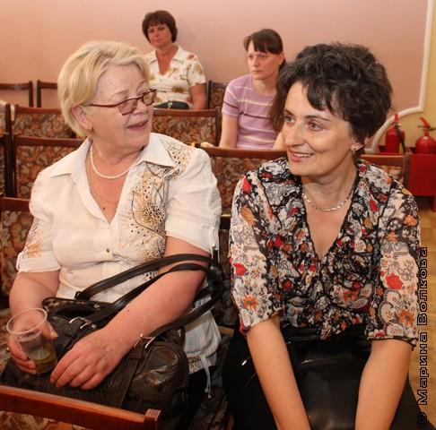 Наталья Шмидт и Ирина Аргутина