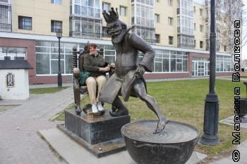 Марина Волкова в Тобольске