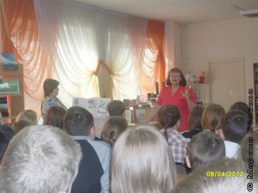 Читательский марафон с Натальей Крупиной