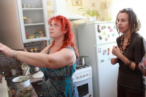 На кухне у Татьяны Александровой