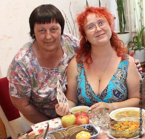 Татьяна Александрова и Марина Юрина