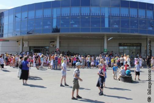 Открытие  IV-го фестиваля чтения и книг в Копейске