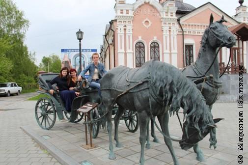 У лукоморья Иртыша и у Кремля Тобольска