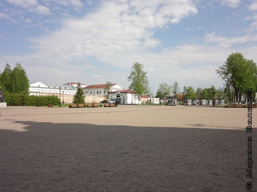 Вокруг Кремля тобольского такая ж красота!