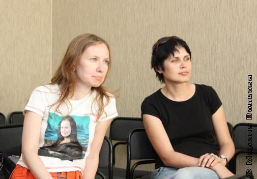 Надежда Колтышева и Юлия Подлубнова