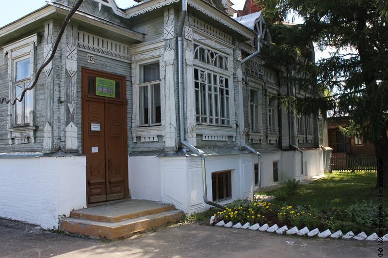 Библиотека в городе Гороховец, Владимирская область