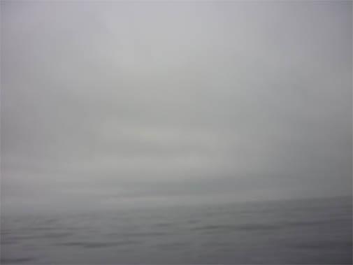 Туда мы шли в сплошном тумане