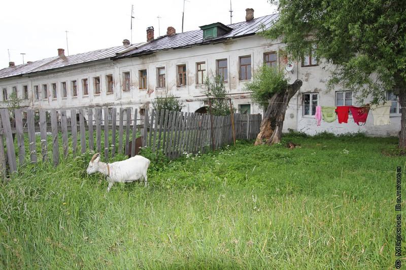 Ростов Великий, дом на берегу озера Неро