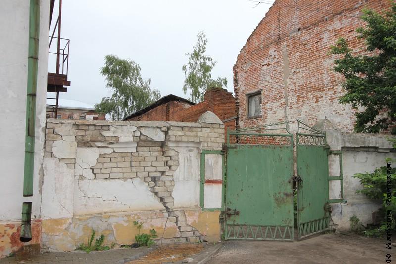 Стена, ворота, забор