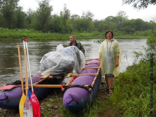 Река Серга и Нина Ягодинцева
