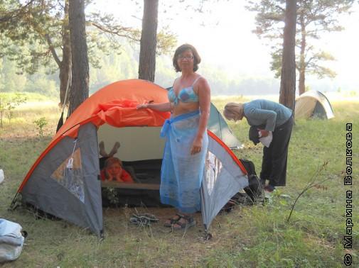 Палаточный уют