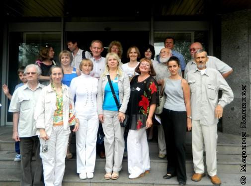 Участники съезда МГП