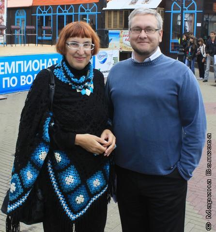 Марина Волкова и Константин Рубинский