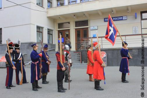 Воины готовы  к выходу