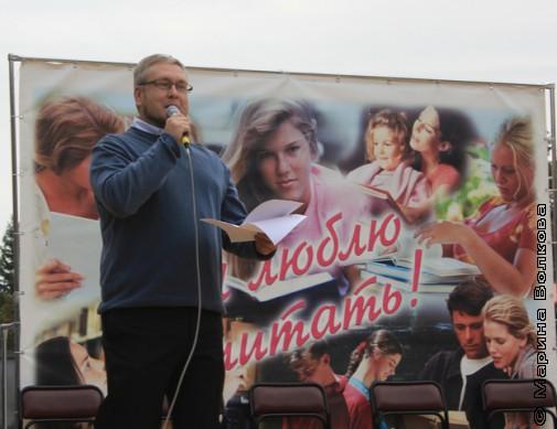 Константин Рубинский читает стихотворение о Челябинске