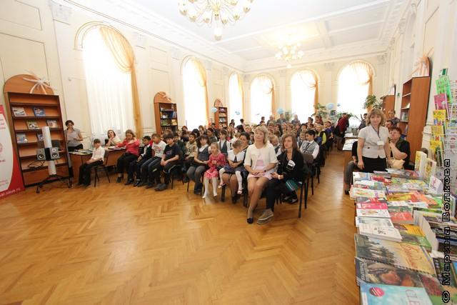 Открытие фестиваля непрочитанных книг