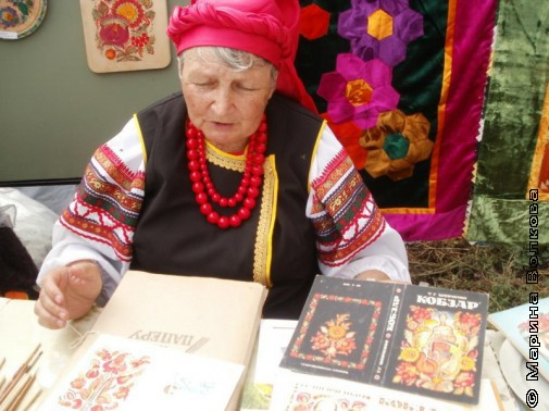 Лучший народный мастер из Брединского района Тамара Кудиш