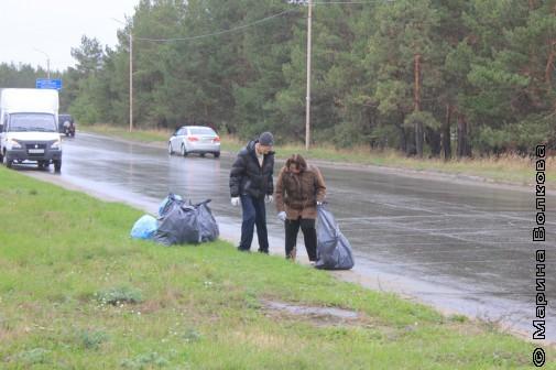 Участники уборки страны