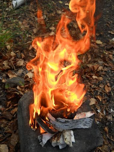 Обряд сожженья бересты