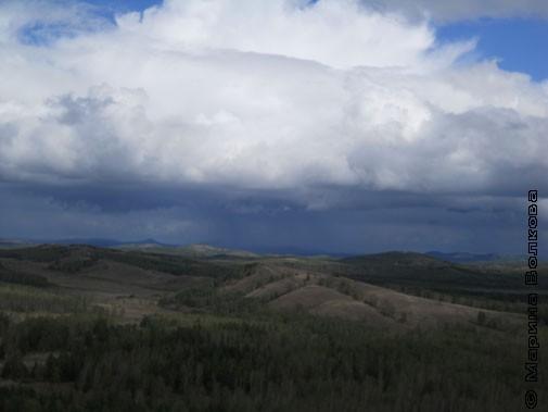 Тяжёлая облачность