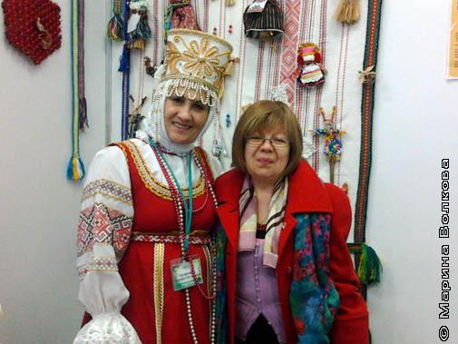 Мастер из Ханты-Мансийского АО, г. Лянтор. Надежда Григорьевна Харчевникова и я.