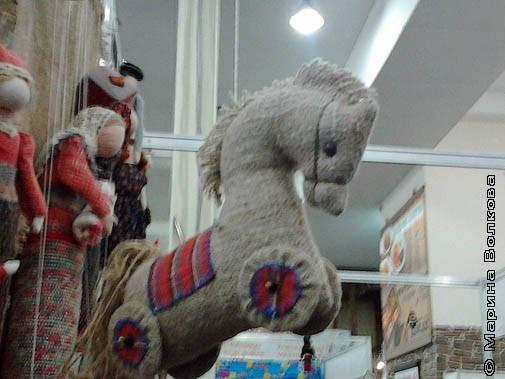 Грустный конь или ностальгия. А может и так может  быть?
