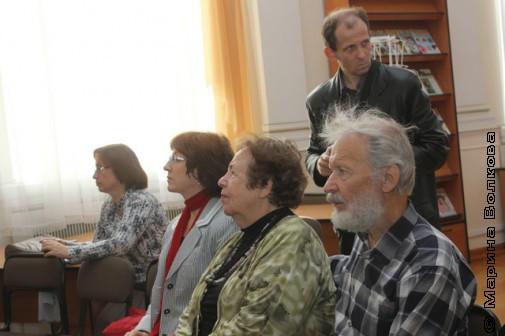 Часть челябинской делегации на церемонии: Игорь и Надежда Капитоновы, Елена Поплянова