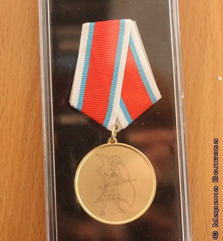 Новая медаль премии Владислава Крапивина