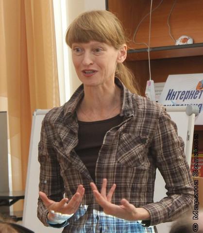 Елена Ленковская, член жюри конкурса