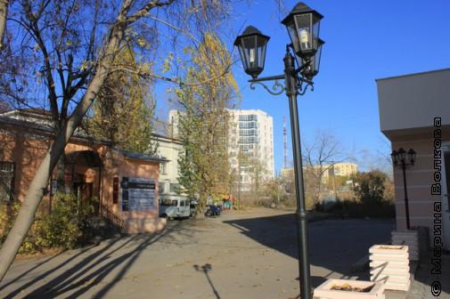 Свердловский дворик