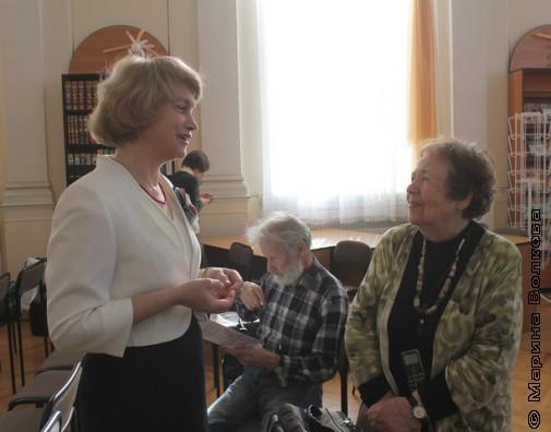 Два гуру библиотечного дела: Марина Ивашина и Надежда Капитонова