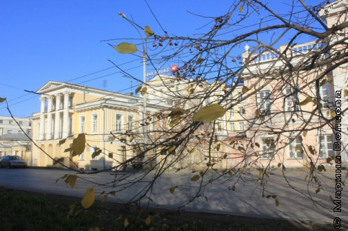 Осень на улице Чапаева