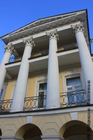 Балкончики Малой Герценки