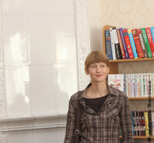 Печка Малой Герценки и Елена Ленковская