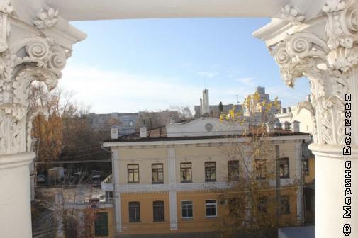Вид с балкончика Малой Герценки
