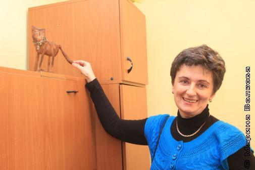 Ирина Аргутина дергает малогерценского кота за хвост