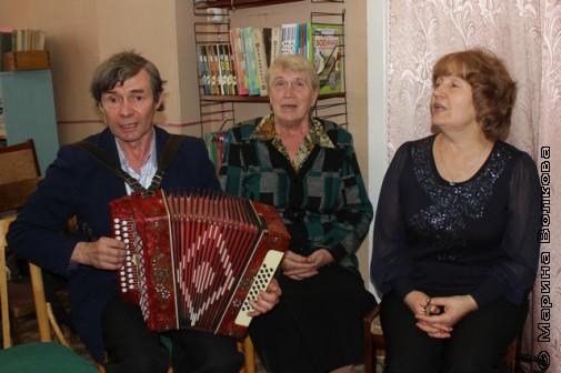 Встреча с Ниной Ягодинцевой закончилась песней