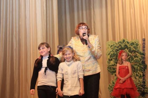 Марина Волкова со знатоками южноуральской детской литературы