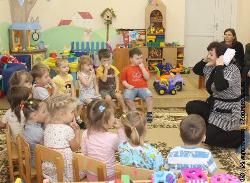 Марафон в первой младшей группе детского сада