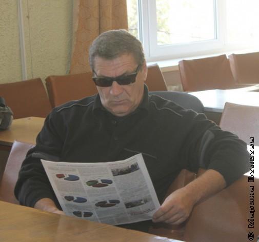 Алексей Суздалов до презентации книги