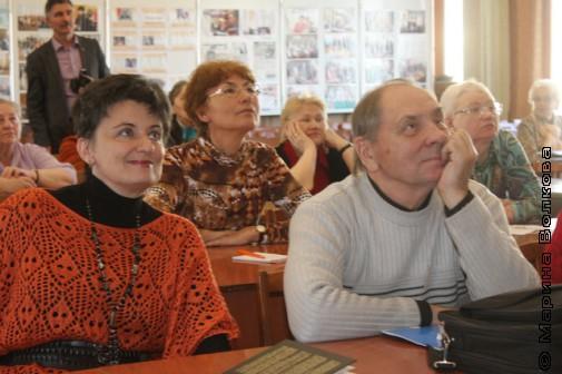 Ирина Аргутина и Николай Година