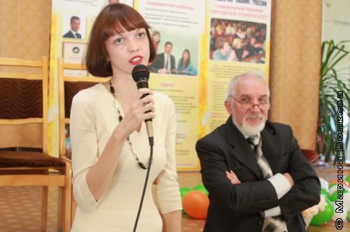 Елена Меньшинина и Владдлен Феркель